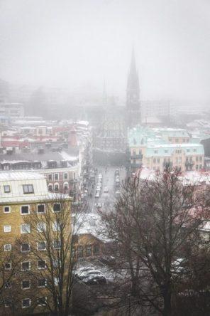 Skansen kronan views
