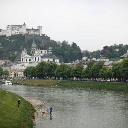 Salzach river