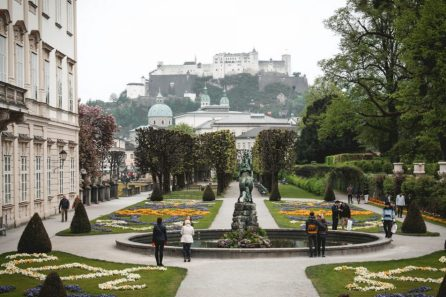 Mirabell palace gardens
