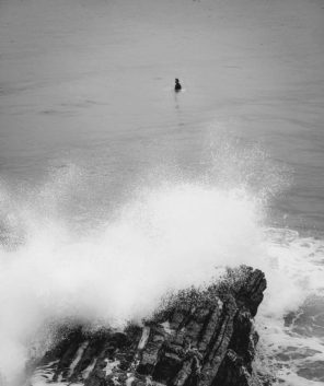 Surfer at el Pico del loro