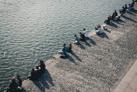 Along the river Garonne