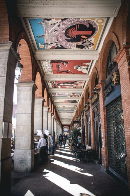 Arcade at Place du Capitole