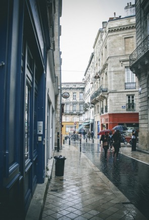 Bordeaux-rainy